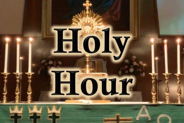 Holy Hour 1/29/21 OLGC