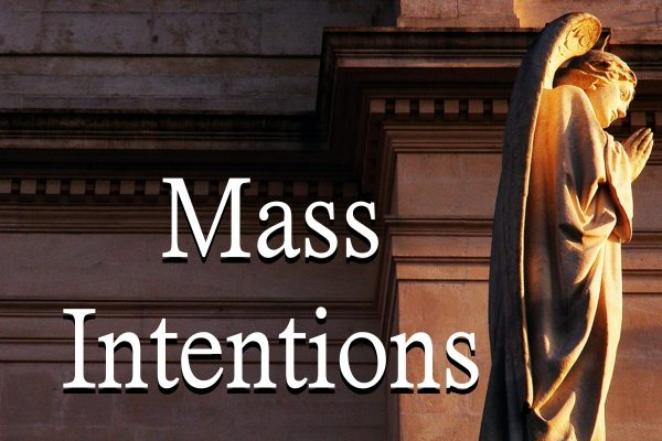 Mass Intentions Needed